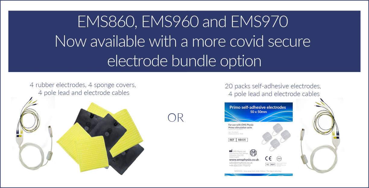 EMS Physio electrodes