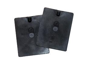 Conductive rubber electrodes