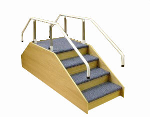 Conventional Wooden Steps