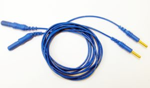 Blue electrode cable (1 pair)