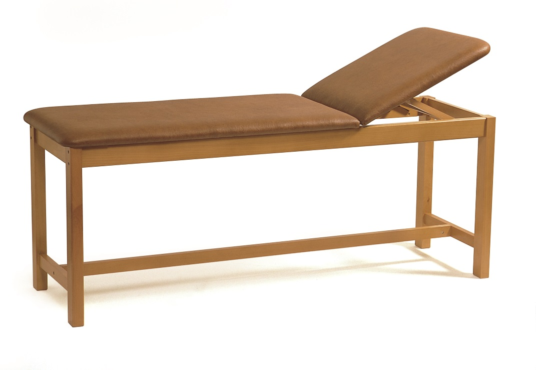 Wooden Treatment Couch for Shortwave Therapy