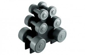 Dumbbell set of 3 weights