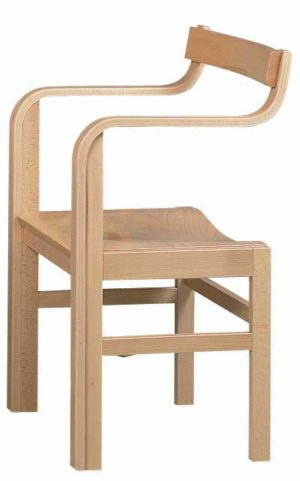 Wooden Shortwave Chair