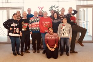 EMS PHYSIO Xmas Jumper Day