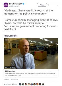 EMS PHYSIO BBC NEWSNIGHT