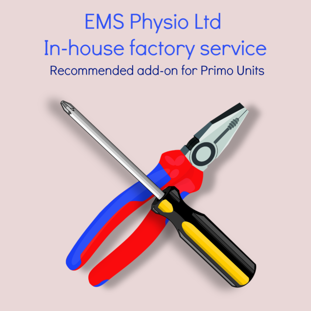 EMS Physio In-House factory service