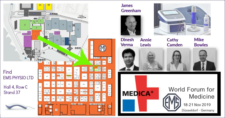 Medica 2019 EMS PHYSIO