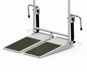 Divided-Tilting-Foot-Board